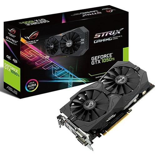 Asus GeForce GTX 1050 Ti Strix 4 GB
