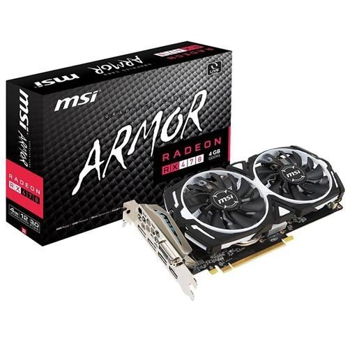 MSI Radeon RX 470 Armor 4 GB