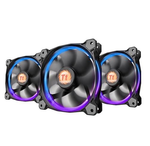 Thermaltake Riing 140 RGB (Pack de 3)