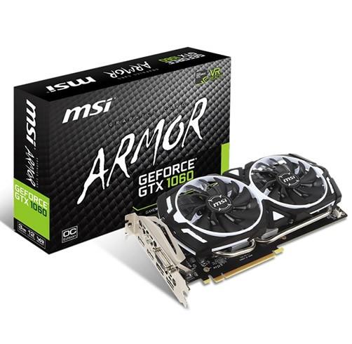 MSI GeForce GTX 1060 Armor 3 GB