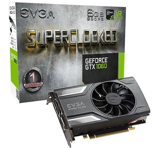 EVGA GeForce GTX 1050 Ti 4 GB