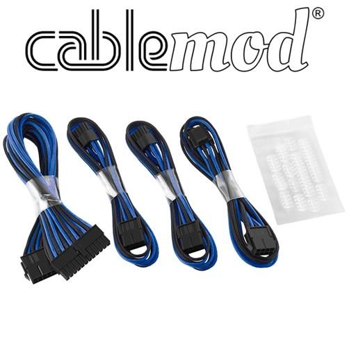 Cablemod ModFlex - Dual 6+2 - Negro/Azul