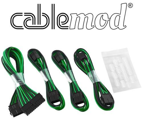 Cablemod ModFlex - Dual 6+2 - Negro/Verde