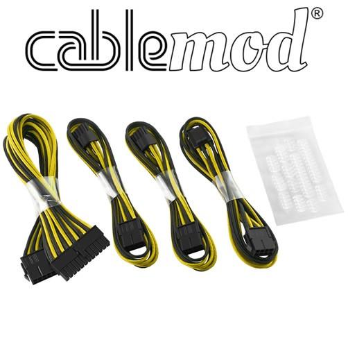 Cablemod ModFlex - Dual 6+2 - Negro/Naranja