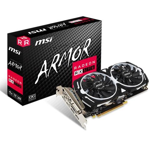 MSI Radeon RX 580 Armor 4 GB