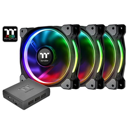 Thermaltake Riing Plus 120 RGB Premium (Pack de 3)