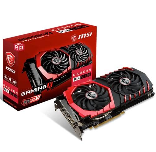MSI Radeon RX 580 Gaming X 4 GB