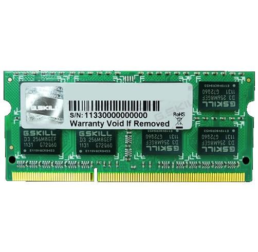 G.SKILL 8GB DDR3L 1600 - SO-DIMM