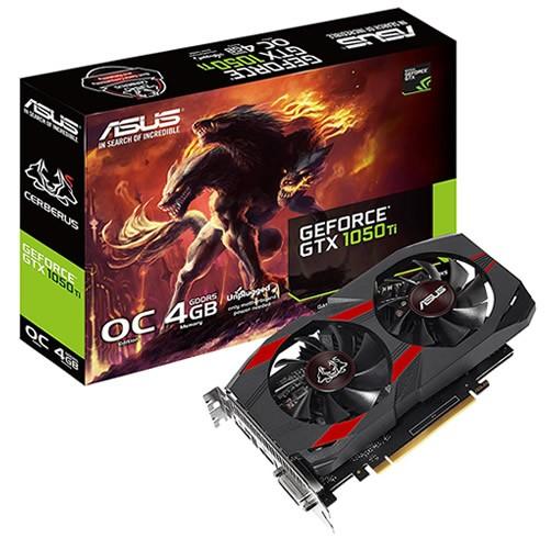 Asus GeForce GTX 1050Ti Cerberus 4 GB