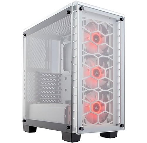Corsair Crystal 460X RGB - Blanco