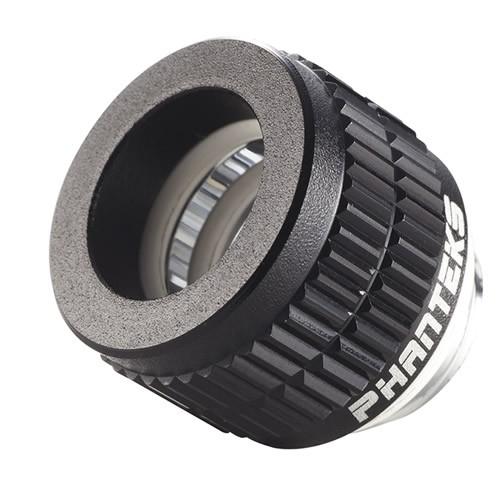 Fitting Tubo Rigido 12mm G1/4 - Phanteks - Negro