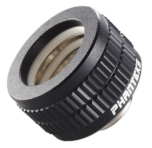 Fitting Tubo Rigido 16mm G1/4 - Phanteks - Negro