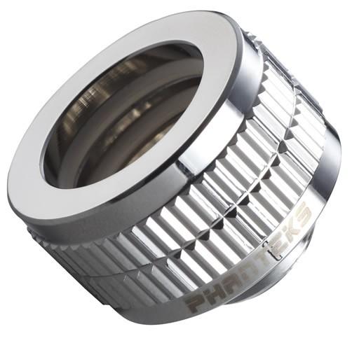 Fitting Tubo Rigido 16mm G1/4 - Phanteks - Chrome