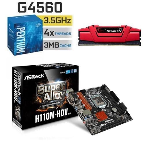 Combo / Kit Intel Pentium G4560