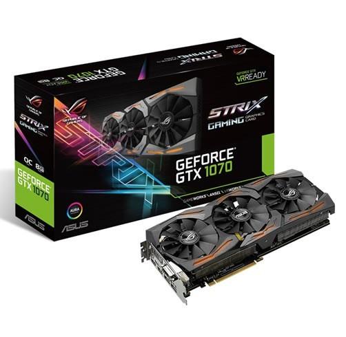 ASUS GeForce GTX 1070 STRIX OC 8 GB