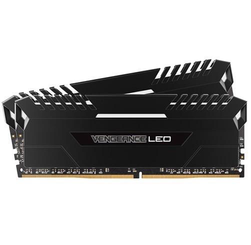 Corsair Vengeance LED 16 GB (2 x 8 GB) DDR4 3000 - Blanco